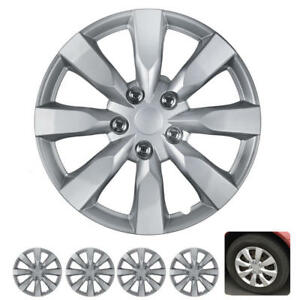16 Inch Hubcap Covers 4pc For Toyota Corolla 2014 Style Hub Wheel Caps