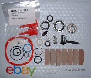 Ingersoll Rand 2145 Tk2 Tune Up Kit 2145 D93bk Trigger 2145 K75 Red Button Kit