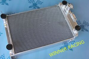2 3 4 Aluminum Radiator For 1936 Ford Street Hot Rod W Flathead V8 M T