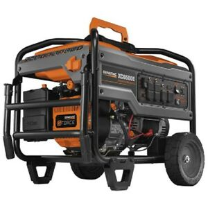 New Industrial Portable Generator 6500w gasoline electric recoil Start epa csa