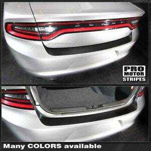 Dodge Charger 2011 2019 Rear Bumper Top Blackout Decal Stripe Choose Color