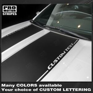 Dodge Charger 2015 2019 Hood Accent Decals Stripes Choose Color