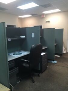 Office Cubicles Used