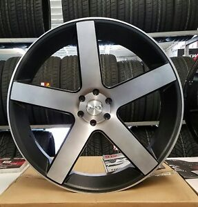 28 Inch Azad 5198 Rims Wheel Only Fit Chevy Gmc Cadillac Ford Asanti Forgiato