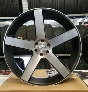 28 Inch Azad 5198 Rims Wheel Tires Chevy Gmc Cadillac Ford Asanti Forgiato