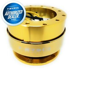 New Nrg Quick Release Gen 2 0 Chrome Gold Body And Ring Hardwaresrk 200cg