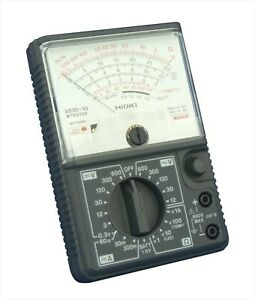 Hioki 3030 10 Analog Multimeter Hitester 600v Ac Tester Meter Japan New
