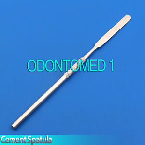 10 Pcs Lab Wax Mixing 17cm Spatulas Dental Cement Modelling Instruments