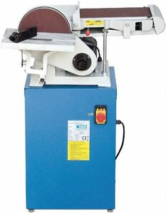 SANDER BAND AND DISK TILTING WITH BENCH FERVI ITEM 0662