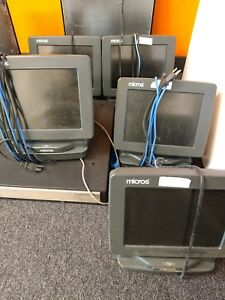 Micros Eclipse 400495 100 Pos Workstation Terminal Working When Removed As Is