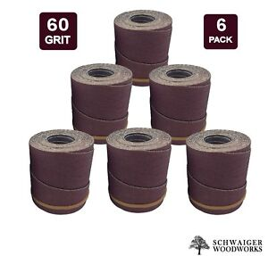 Drum Sander Sanding Wraps rolls 60g For Jet performax 22 44 22 44 Plus pro 6