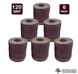 Drum Sander Sanding Wraps rolls 120g For Jet performax 22 44 22 44 Plus pro 6