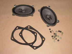 83 85 Porsche 944 Rear Set Speaker Set Oem