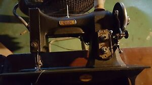 White Rotary Antique Vintage Sewing Machine