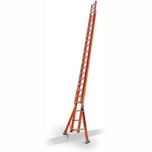 New Fiberglass Extension Ladder W Posts claw 40 Type 1a