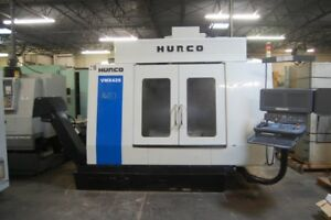 2005 Hurco Vmx42s Bt 40 Taper 15k Rpm 20 Hp Vmc Ultimax 4 Dual Screen Control