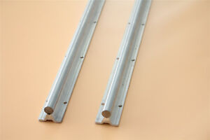 2pcs Sbr20 1500 Fully Supported Dia 20mm Linear Rail Shaft Rod With Support