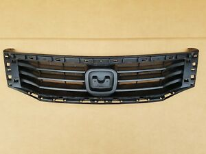 Fits 2008 2010 Honda Accord 4dr Sedan Front Bumper Upper Grille Panel