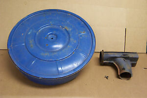 1965 1966 1967 Ford Mustang 289 2 Or 4v Air Cleaner Base Top Or Lid Snorkel
