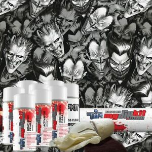 Hydrographic Kit Hydro Dipping Water Transfer Print Hydro Dip Joker Faces Dd 932