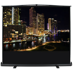 Manual Projection Screen 72 Portable Pull Up 57 1 2 X 43 1 4 Display 4 3