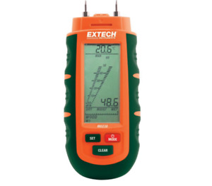 Lcd Digital Moisture Meter Tester Humidity Damp Detector Wood Timber Concrete
