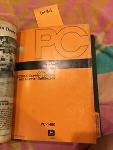 John Deere 350c Crawler Loader Bulldozer Dozer Parts Catalog And Parts List