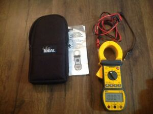 Ideal Sperry 61 726 Digi Snap Digital Clamp Multimeter Excellent Free Ship