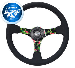 New Nrg Deep Dish Steering Wheel 3 Deep Tropical Hydro Dip 350mm Rst 036trop S