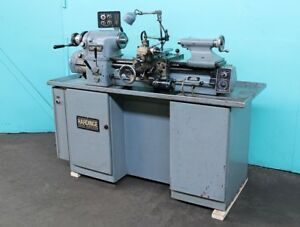 1981 Hardinge Hlv h Lathe Collet Closer Wistler Magna Die Tailstock Work Light