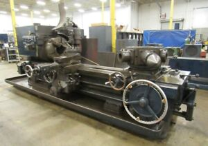 1956 Warner Swasey 4a Sq Head M 3550 Saddle Type Turret Lathe Coolant System
