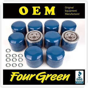 Oil Filters With Washer 4pc For 86 16 Elantra Santa With Washer Qty 4