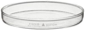 Corning Pyrex Borosilicate Glass Petri Dish 150x20mm With Cover pack Of 12