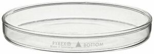 Corning Pyrex Borosilicate Glass Petri Dish With Cover