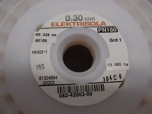 28 5 Awg 0 30 Mm 30 Lbs Copper Magnet Wire Elektrisola Ms401 1