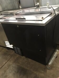 Bottle Cooler Beverage air Sf34 Tested And Working 7 5 Cu Ft