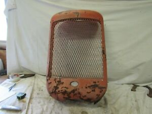 Allis Chalmers C Tractor Front Radiator Grill Ac C