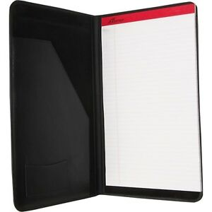 Royce Leather Legal Size Pad Holder Notepad black
