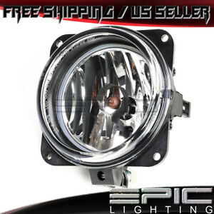 2002 2006 Ford Escape Focus Mustang Lincoln Ls Single Fog Light Clear Lens