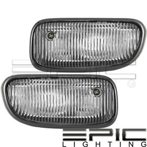 1999 2003 Jeep Grand Cherokee Left Right Pair Performance Fog Lights Clear