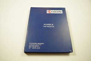 Kyocera Sample Chip Resistor 1e To 2 2m With Different Smd Packages Kit