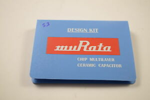 Murata Grmkitb 500 Chip Multyplayer Ceramic 1 0uf 22uf Capacitor Design Kit