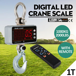 Hanging Scale klau 1000 Kg 2000 Lb Digital Industrial Heavy Duty Crane