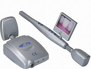 New Dental Wireless Intraoral Camera Hand held With Small Lcd Monitor Cf 988