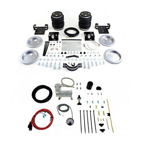 Air Lift Control Air Spring Single Air Compressor Kit For Sierra 3500 Classic
