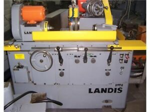Landis 1r Rebuilt Cylindrical Grinder Autofeed 50 Hours On Machine Since Rebuilt