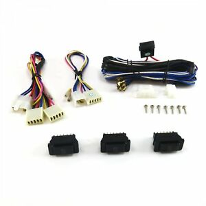 Power Window Switch Kit With Three Sw3 Switches 409 350 Model T Rat Rod
