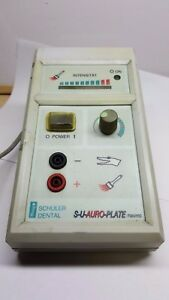 Schuler Dental Lab Electric Rapid Gilding Unit For Partial Platings Germany