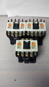 Fuji Electric Sc 5 1 Magnetic Contactor Lot Of 3