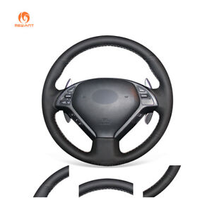 Diy Pu Leather Steering Wheel Cover For Infiniti G G35 G37 Qx50 Ex Ex35 Ex37 Q40